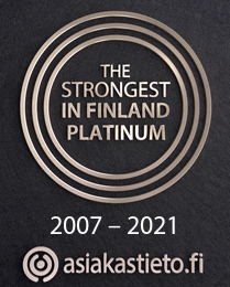 The strongest in Finland platinium